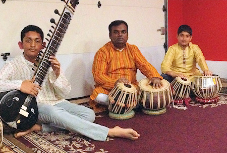 Tabla Ensemble by Tabla Niketan students