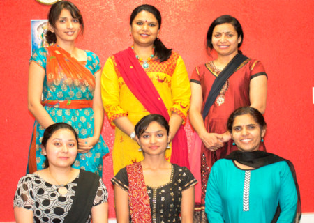 Kathak dance for Teen Taal compositions choreographed by Shrimati Anupama Srivastava