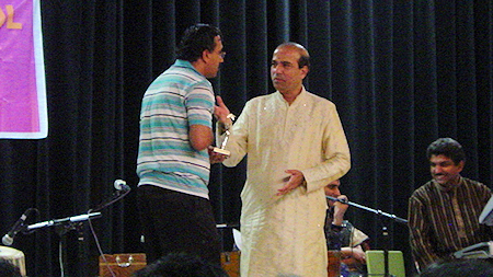 Satish Tare with Suresh Wadkar